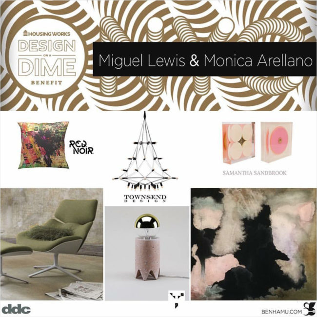 Rondelle II and Rondelle III featured in vignette designed by Miguel Lewis And Monica Arellano