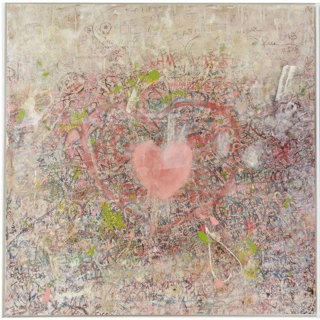 I *heart* graffiti: Verona Love wall